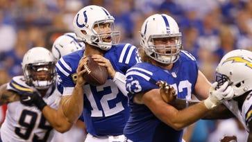 Haeg shines, run defense emerging for Colts