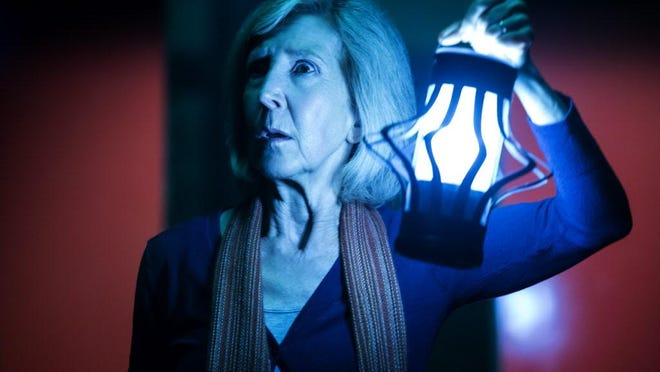 """Lin Shaye reprises her role of Elise Rainier in a scene from """"Insidious: Chapter 3."""""""