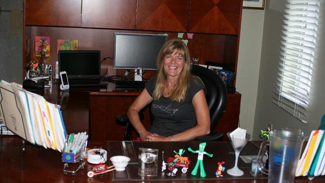 Lucy Costa with Cape Coral-based Promotional Incentives Inc.