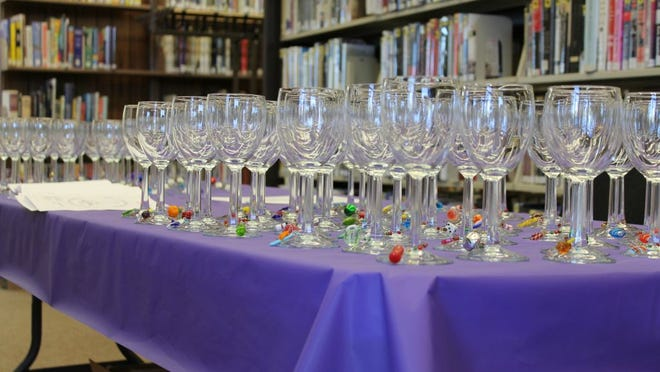 An image from a past Raise a Glass for Reading Wine Tasting and Farmers' Market Gala at the Community Free Library in Holley. provided photo