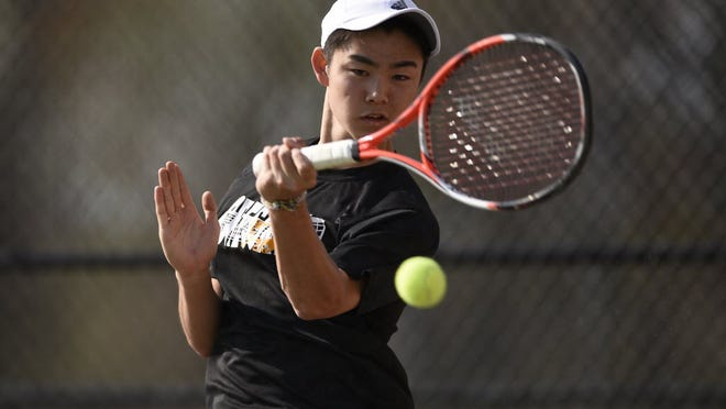 Cresskill's Chikaya Sato is one of the favorites in the Bergen County tennis tournament.
