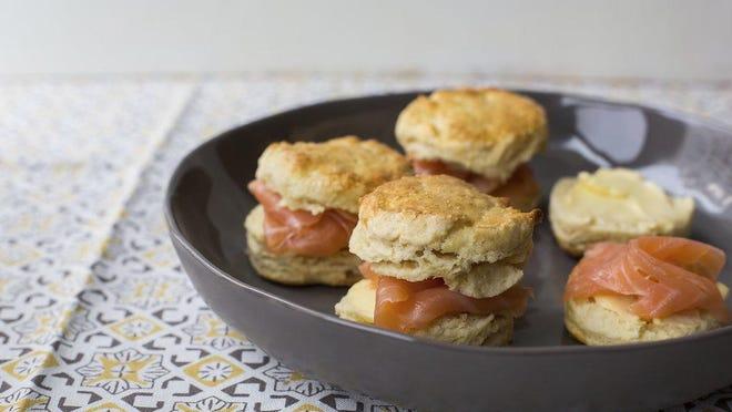 This St. Patrick's Day, treat yourself to Irish scones with smoked salmon.