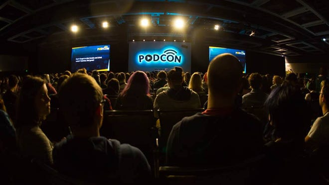 The 2017 PodCon convention in Seattle, Washington.