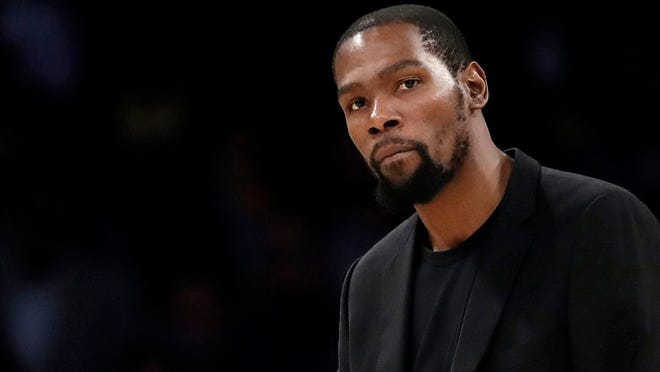 Brooklyn Nets star Kevin Durant is one of four members of the team who have tested positive for the coronavirus.