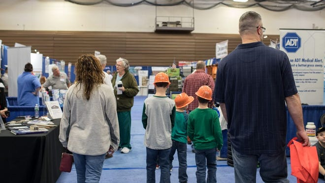 People attend the the Orange County Home Show in Middletown on March 15, 2019. This year's event was scheduled for this weekend but has been canceled.