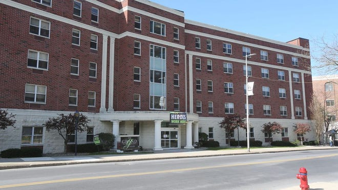 The Grand Rehabilitation and Nursing at River Valley on Main Street in the City of Poughkeepsie on April 16, 2020.