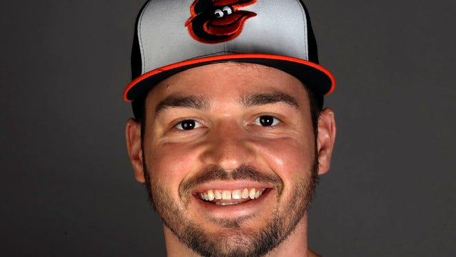 Trey Mancini of the Baltimore Orioles