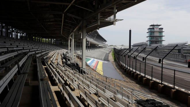 Indianapolis Motor Speedway announced Thursday that there will be no fans in attendance for Brickyard 400 next month. Originally, the track had hoped to be one of the first major sporting events in the country with fans in attendance. DARRON CUMMINGS/AP