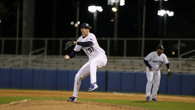 New York Mets draft choice Eric Orze, a pitcher from the University of New Orleans, has beaten cancer twice.