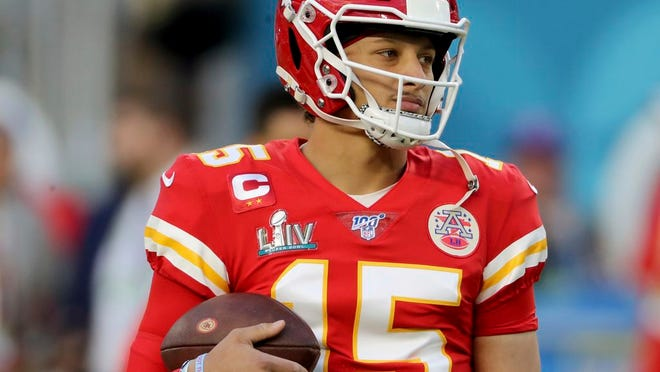 The Jets face the Super Bowl champion Kansas City Chiefs and quarterback Patrick Mahomes in week 8 of the NFL season.