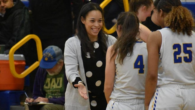 Ellenville girls basketball coach Samantha Ellis