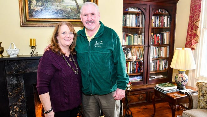 Dena Finneran and husband John are the owners of the Caldwell House Bed and Breakfast in Salisbury Mills.