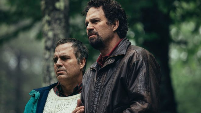 """Mark Ruffalo portraying twin brothers Dominick and Thomas Birdsey in HBO's """"I Know This Much is True."""""""
