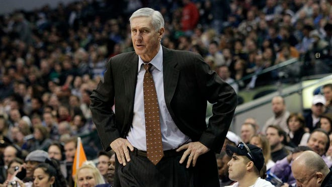 From Dec. 11, 2010, Utah Jazz head coach Jerry Sloan is shown during an NBA basketball game against the Dallas Mavericks in Dallas. The Utah Jazz have announced that Jerry Sloan, the coach who took them to the NBA Finals in 1997 and 1998 on his way to a spot in the Basketball Hall of Fame, has died. Sloan died Friday morning, May 22, 2020, the Jazz said, from complications related to Parkinson's disease and Lewy body dementia. He was 78.