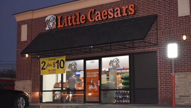 Little Caesars Pizza, 1501 N. Kickapoo, in Shawnee.