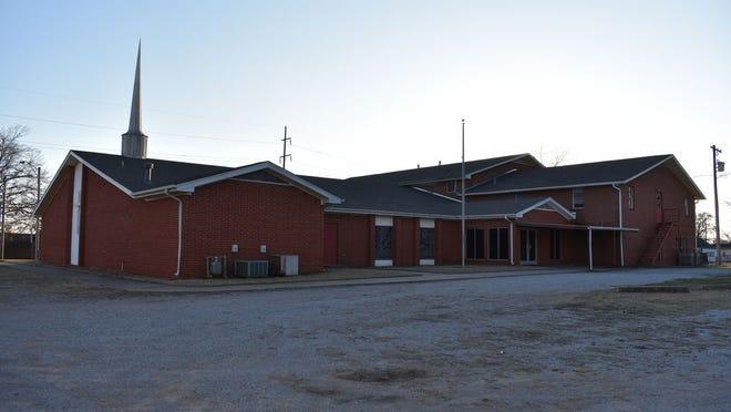 Calvary Baptist Church, at 214 W. Farrall St. in Shawnee.
