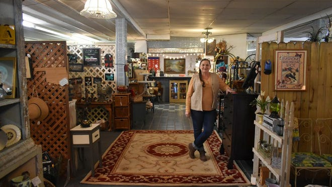 Jan Mcvoid has been one of the owners of the Pirates Cove Antique Booth Mall for the last three years.