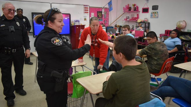 School Resource Officer Tanya Thompson has been at McLoud Public Schools for a year and has worked hard to build a positive relationship between the community and law enforcement.