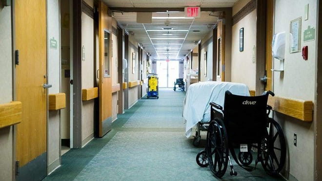Some nursing homes have dozens of COVID-19 cases. [File photo]