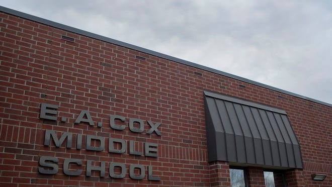 A fire at Cox Middle School sent one student to Maury Regional Medical Center on Friday, Jan. 17, 2020.