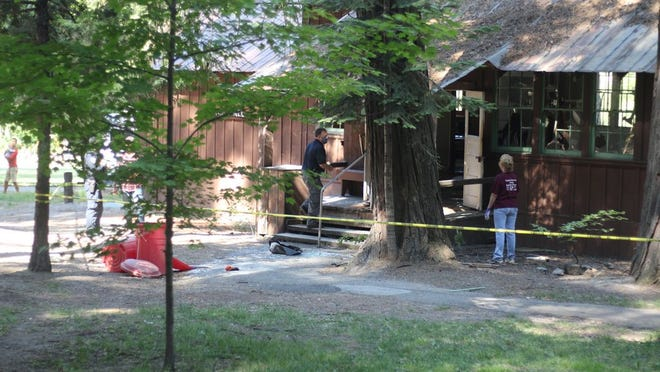 The Mount Shasta City Park Dance Hall was broken into sometime between 10:30 p.m. on Wednesday, July 1, and 5:30 a.m. July 2. The suspect caused thousands of dollars of damage to the historic building, which was built as in the 1930s as California State University, Chico's summer campus for the teacher's college.