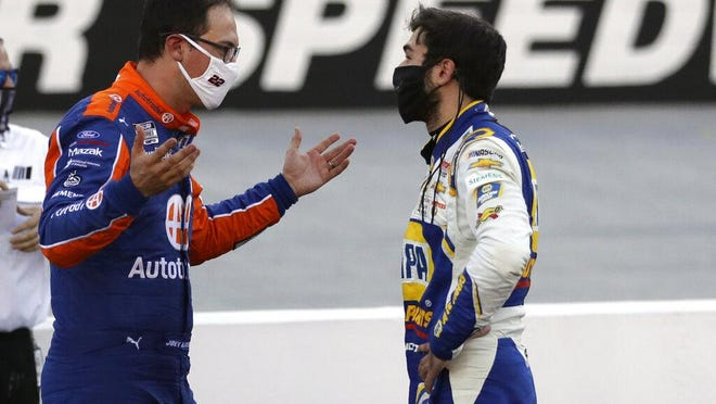 Either Chase Elliott was unimpressed with Joey Logano's post-race critique at Bristol, or he didn't understand what he was saying.
