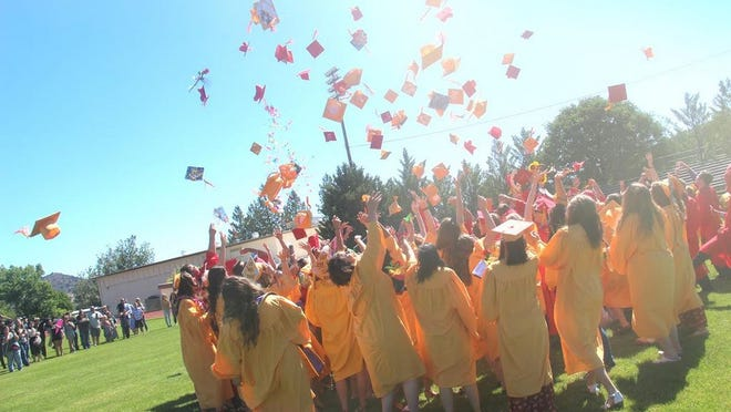"This year's graduation ceremony will look a bit different than it did at Yreka High School in 2019. Graduates will be separated by six feet, they won't be allowed to bounce beach balls, and gathering after Saturday morning's ceremony is prohibited. However, school officials felt the event is ""too big a milestone"" to be canceled."