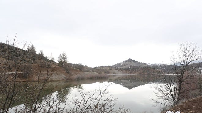 Iron Gate Reservoir in Siskiyou County would cease to exist if the Klamath Dam Project is successful.