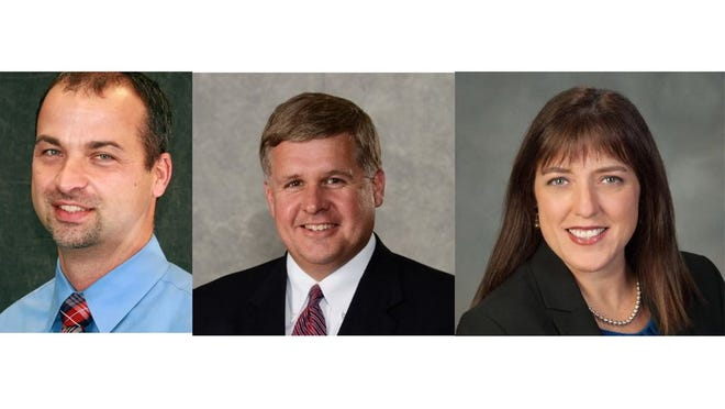 Michael Hickman, a principal at Mt. Juliet Elementary School, William Mickey Hall, the deputy director of schools at Wilson County Schools and Aimee Wyatt, the director of state and district partnerships for Southern Regional Education Board, are the district's top three candidates.