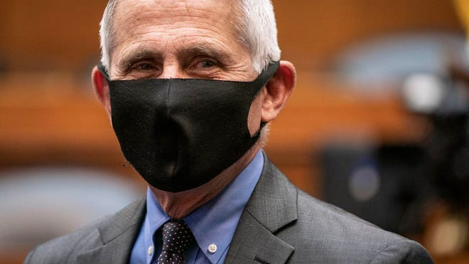Director of the National Institute of Allergy and Infectious Diseases Dr. Anthony Fauci arrives testify before a House Committee on Energy and Commerce on the Trump administration's response to the COVID-19 pandemic on Capitol Hill in Washington on Tuesday, June 23, 2020.
