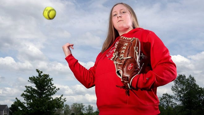 After suffering a broken left ankle in 2018, sophomore pitcher Kassy Stefanski enjoyed a dominant freshman season for the Centennial softball team. Stefanski hopes to help the Stars capture the City League title in her junior season.