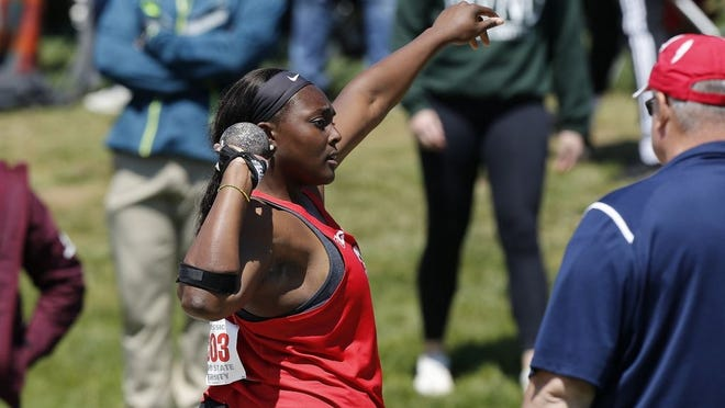 Dublin Coffman graduate Sade Olatoye of the Ohio State women's track and field program was among 605 female college athletes nominated for the 2020 NCAA Woman of the Year Award, it was announced July 14.
