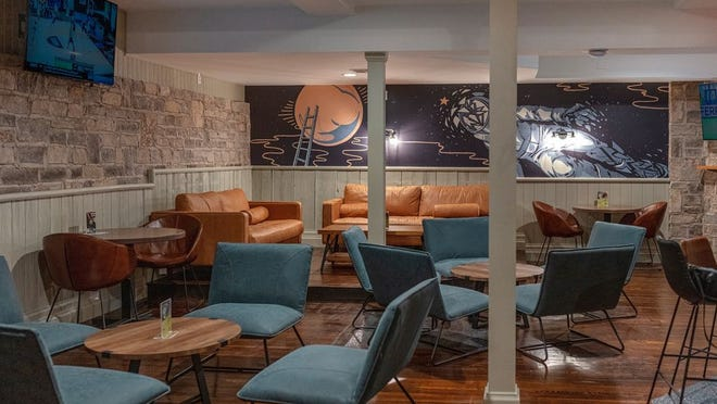The remodeled lower section of North High Brewing Co.'s Dublin site is a bright space with casual seating