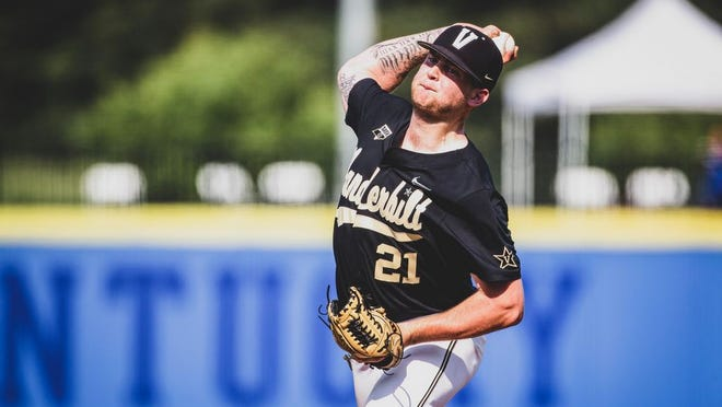 Vanderbilt right-handed pitcher Tyler Brown, a 2017 Olentangy Orange graduate, was selected by the Houston Astros on June 11 with the 101st overall pick in the MLB draft.