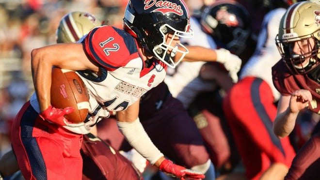 Caden Gordon and Grove City play host to Westerville Central on Friday, Sept. 11.