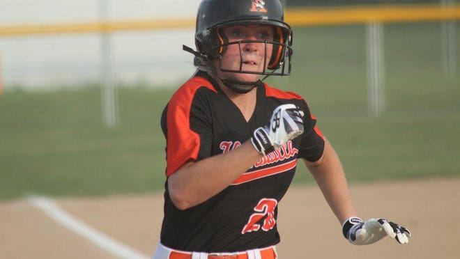 File photo of Kirksville junior catcher Madi McCarty.