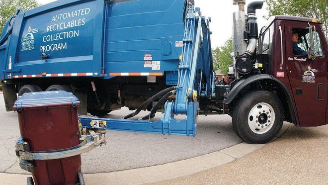 Fort Smith recycling will move to every other week.