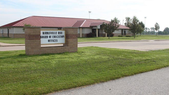 The Kirksville R-III Administration Building.