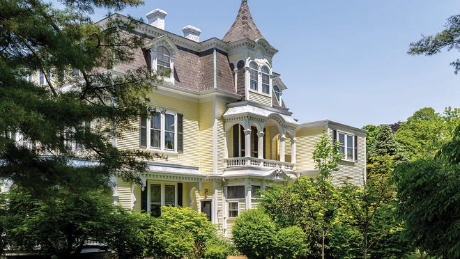Elaborate trim is a hallmark of Victorian architecture, which flourished in the last half of the 19th century.