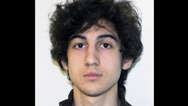Dzhokhar Tsarnaev, convicted in the 2013 Boston Marathon bombing. File photo via The Associated Press