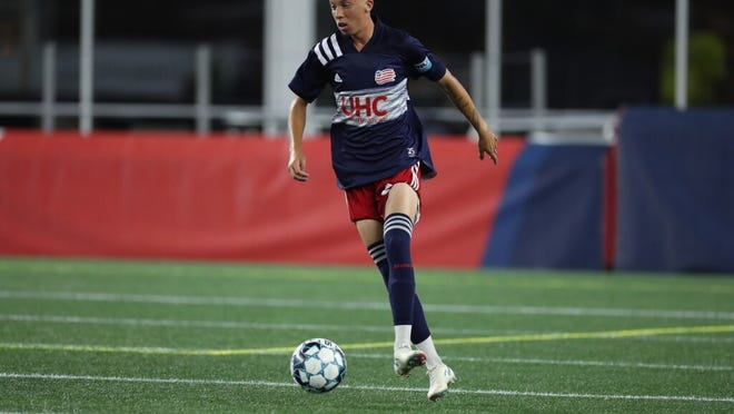 """Diego Souza was a standout for the Red Raiders in 2018, now he's part of the residency program at the Revolution Academy in Foxboro. """"I've been working hard to be here and do my best,"""" he said. """"It's been amazing to be here and play with the guys."""""""