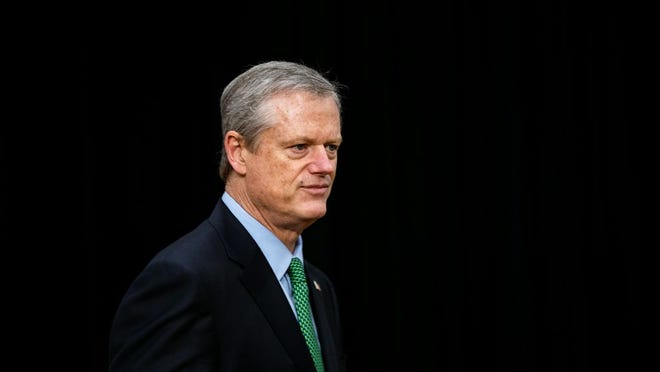 While COVID-19 vaccines could begin arriving in Massachusetts this month, Gov. Charlie Baker said Tuesday it probably won't be until the spring that the general population begins to have access. [File photo]