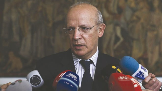 Portugal's Foreign Affairs Minister Augusto Santos Silva.