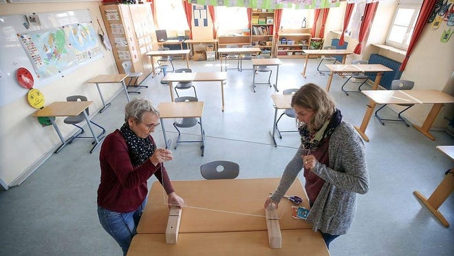Public school teachers across Massachusetts are asking for a phased in approach to the reopening of schools this fall, similar to the state's multi-phased economic restart.