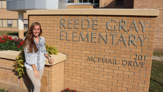 Kristina Case (above) is teaching Kindergarten students at Reede Gray Elementary School this school year.