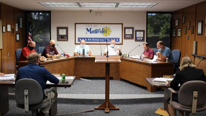 The Montevideo City Council met on Monday evening to discuss several items on a light agenda.