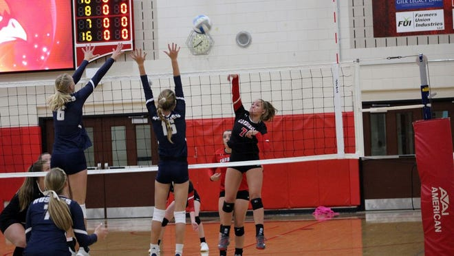 Sydney Sommers and the RVHS volleyball team open the 2020 season Oct. 8.