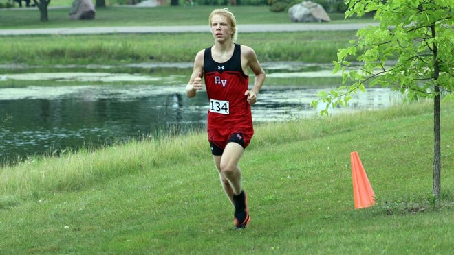 Jayson Peyerl captured the Section 3A boys individual title Oct.15 in Luverne