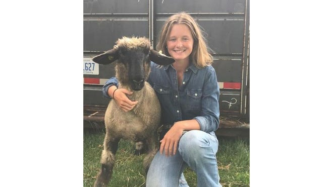 Logan Lievens of Riga was named the top lamb showman in a 4-H virtual showcase being held this month in place of the Monroe County Fair that was canceled due to COVID-19.
