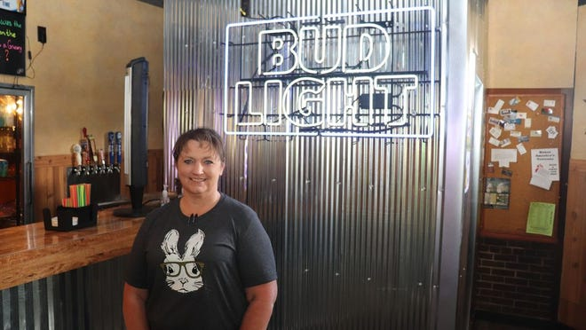 Jessica Barnes and husband, Chad, have opened Barney's in Redwood Falls.